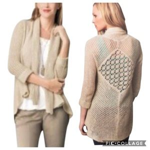 Cabi | Tan Teachers Pet Cardigan Sweater